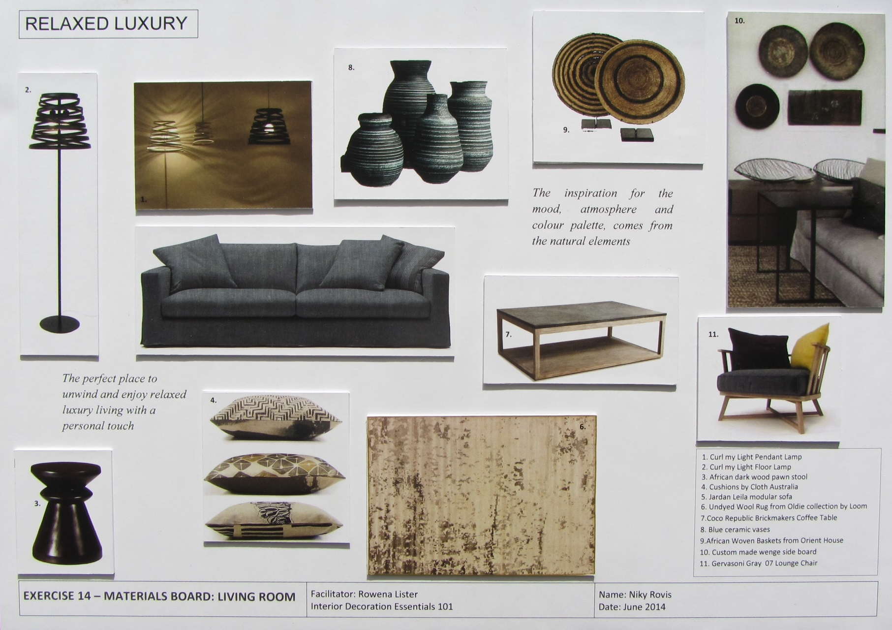 Interior Design Furniture Selection ~ Niky rovis how i started my decorating adventure